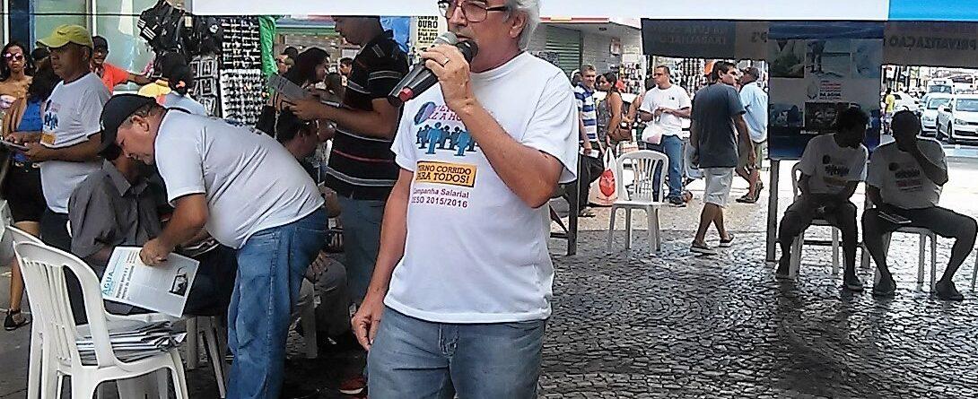 Sérgio Passos, presidente do Sindisan