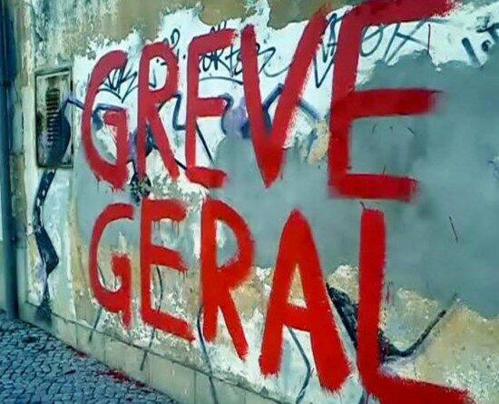 greve geral muro