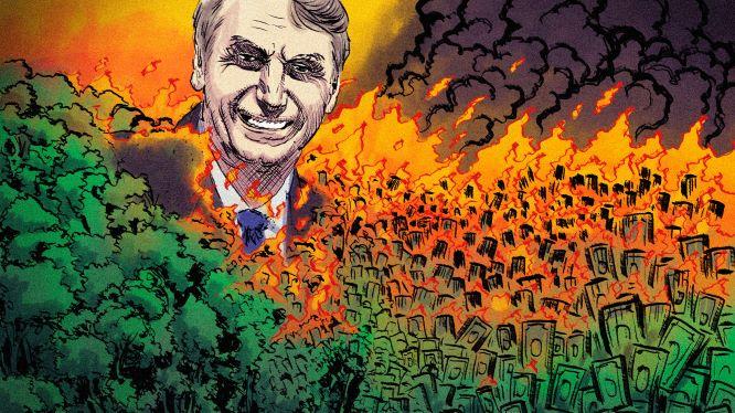 Bolsonaro amazonia queimando 2