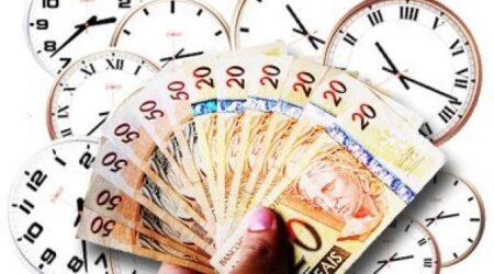 hora extra dinheiro