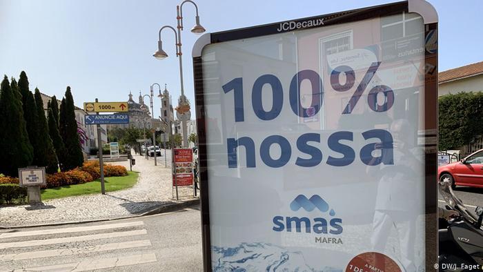 portugal mafra agua reestatizacao