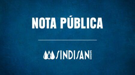 NOTA PUBLICA SINDISAN