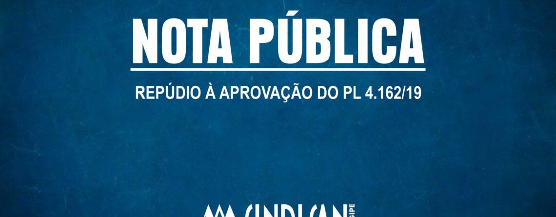 NOTA PUBLICA SINDISAN PL 4162