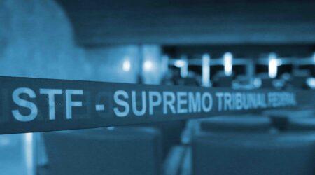 supremo tribunal faixa blue