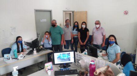 Visita escritório DESO Glória