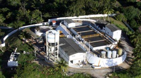 Estação de Tratamento de Água da Deso na Estrada da Cabrita